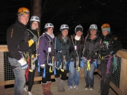 ziptrek twilight tour group