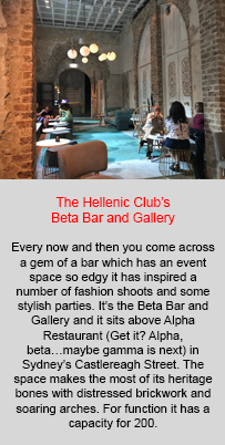 Beta Bar and Gallery